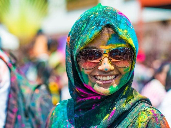 Muslim Face of Holi