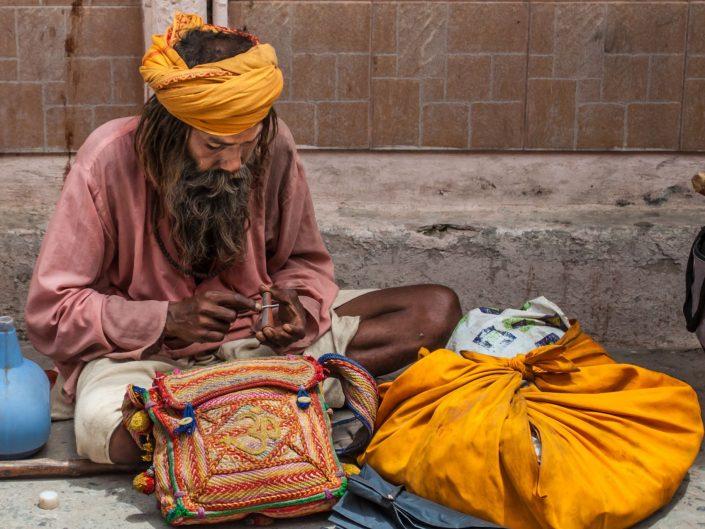 Sadhus on The Way to Himalaya