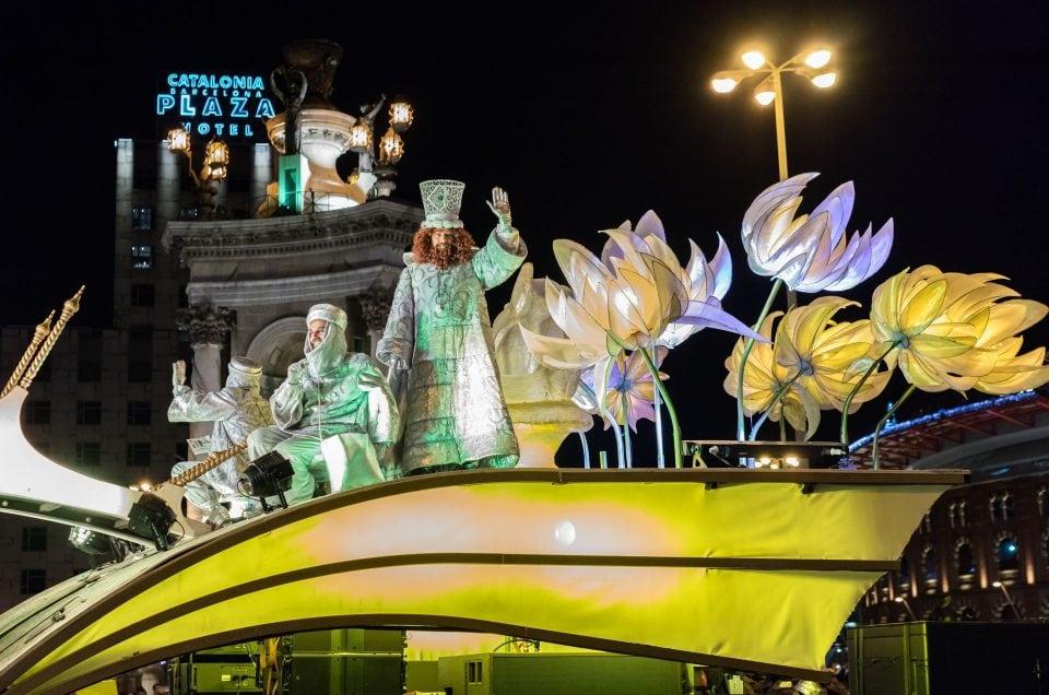 Three King's Parade in Barcelona 2016